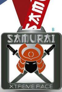 Medalla Samurai Xtreme Race