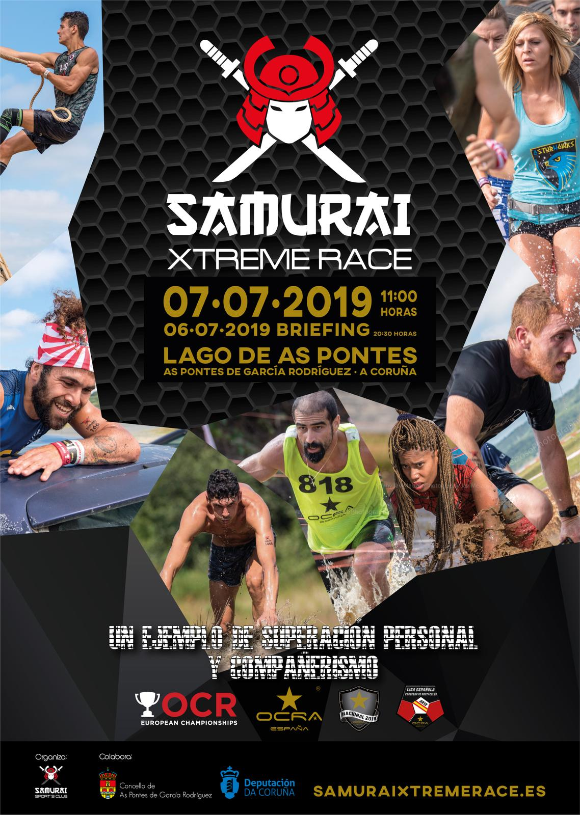Carreras De Obstaculos Calendario.Samurai Xtreme Race As Pontes Carrera De Obstaculos
