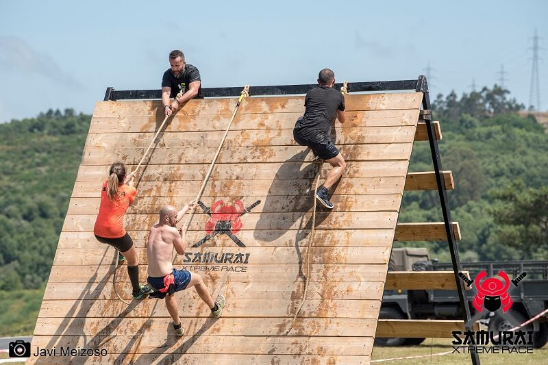 carrera de obstaculos