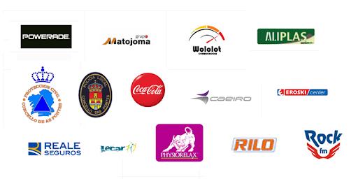 logotipos colaboradores samurai xtreme race